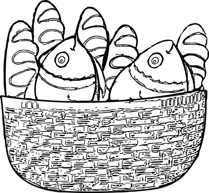 728x671 Basket Coloring Page With Wallpapers Free Download Basket Coloring