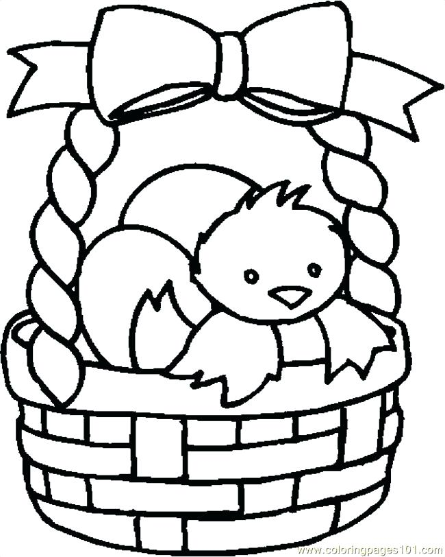 650x812 Basket Coloring Pages To Print Printable Coloring Picnic Basket
