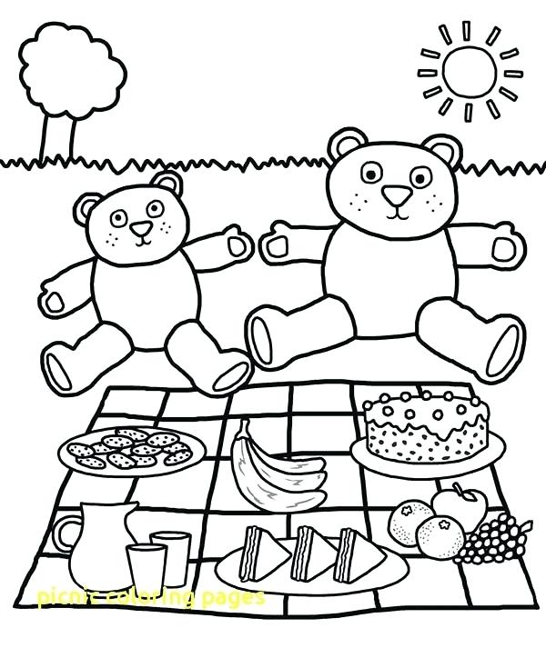 600x713 Picnic Coloring Pages Strawberry Shortcake Printable Coloring