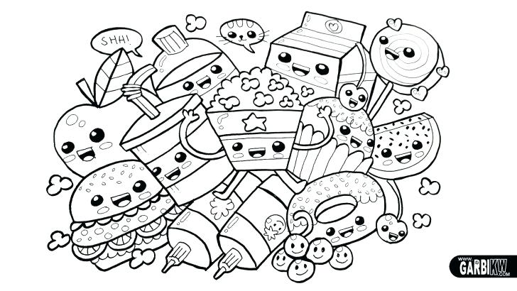 728x410 Picnic Coloring Page Delicious Food For Picnic Coloring Page