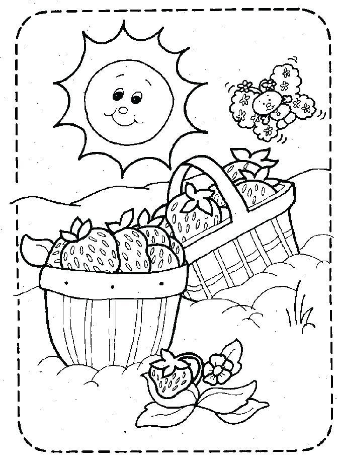 672x924 Picnic Coloring Page Picnic Coloring Page Picnic Basket Coloring