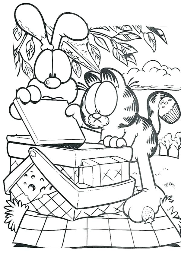 600x842 Basket Coloring Page And Open Picnic Basket Coloring Page Fruit
