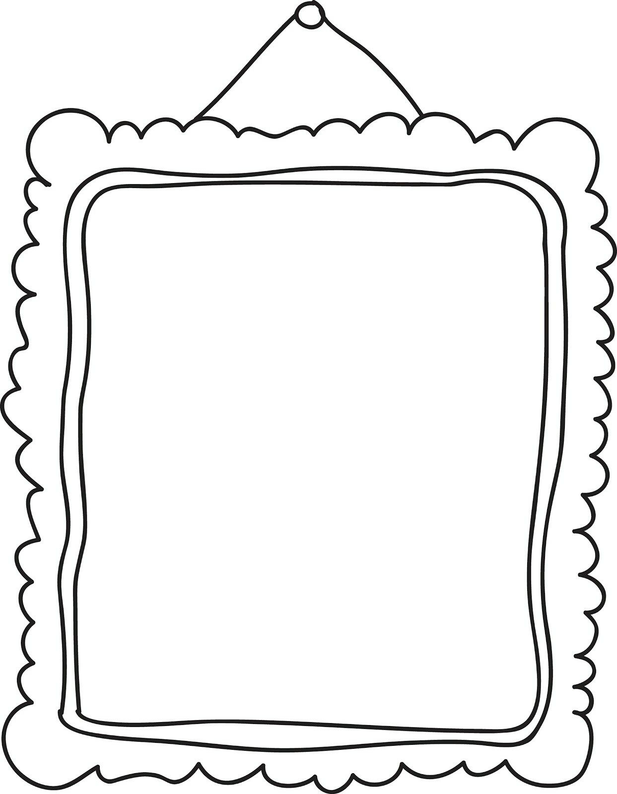 1243x1600 Printable Picture Frames Templates Your Own Picture Frame