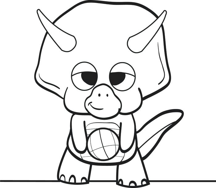 700x609 Dino Coloring Pages