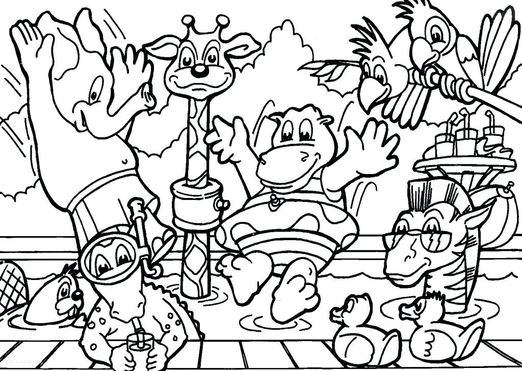 1024x729 Animals Coloring Pages For Toddlers Animal Coloring Pages Farm