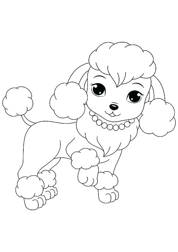 595x842 Free Printable Dog Coloring Pages For Kids Realistic Dog Coloring