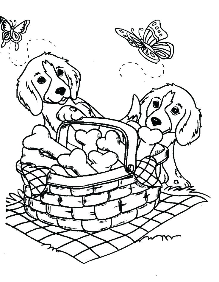 736x948 Puppy Dog Coloring Page Puppy Coloring Pages Plus Valentine Puppy