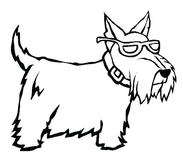 585x521 Realistic Dog Coloring Pages Coloring Pages Of Dog Colouring Pages