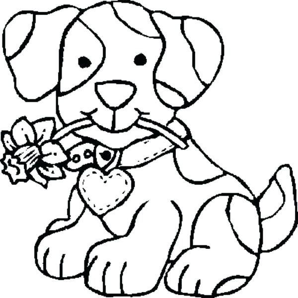 600x600 Color Pages Of Dogs Free Dog Coloring Pages Color Pages Of Dogs