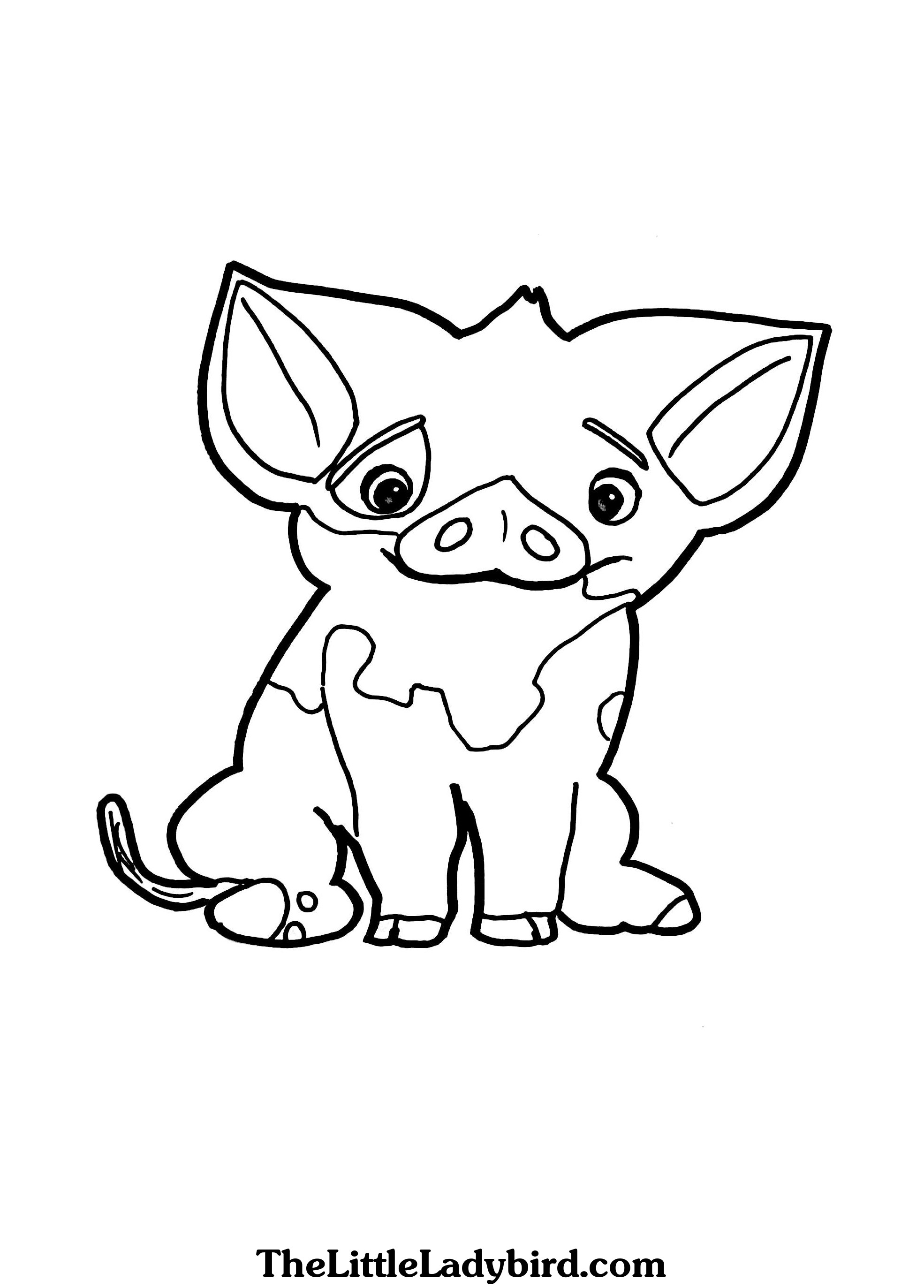 1970x2746 Pig Coloring Pages