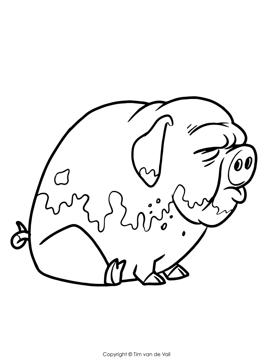 1125x1500 Three Little Pigs Coloring Pages The Three Little Pigs Story