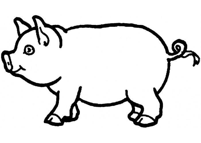 700x500 Coloring Pages Of Pigs Coloring Pages Of Pigs Download Coloring