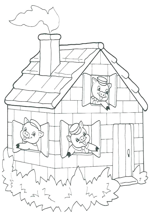 Pig Coloring Pages For Adults