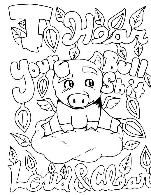 518x668 Pig Coloring Pages For Adults Inspirational Peppa Pig Coloring