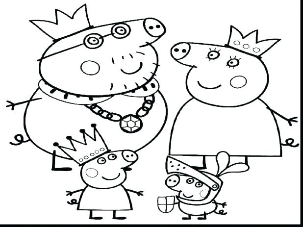 618x463 Print Off Coloring Pages Pig Printable Coloring Pages