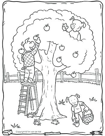 350x453 Three Little Pigs Coloring Pages Three Little Pigs Coloring Pages