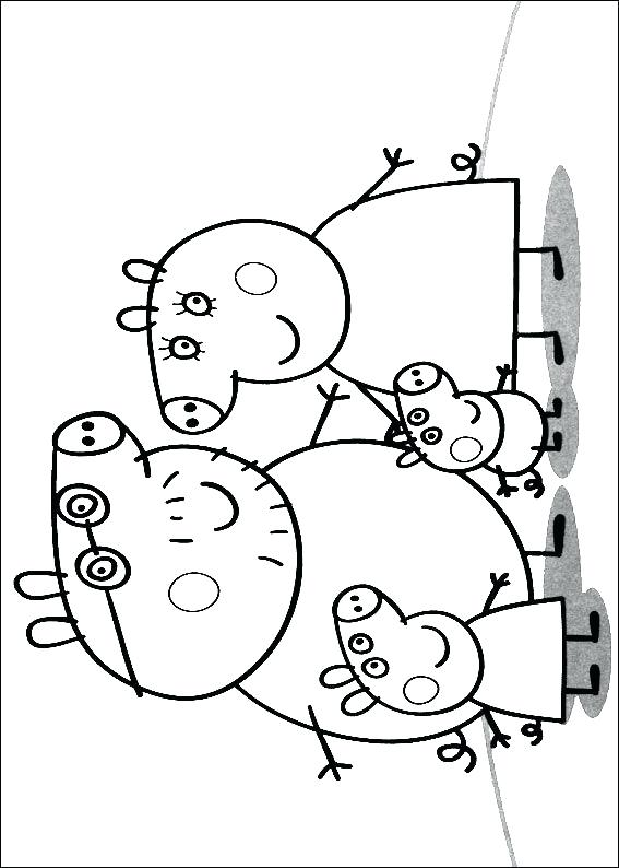567x794 Kids N Coloring Pages Of Pig Pig Coloring Pages Peppa Pig Coloring