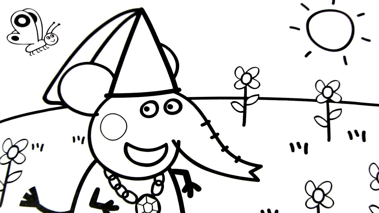 Pig Coloring Pages For Kids At Getdrawings Com Free For Personal