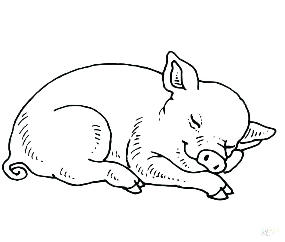 948x805 Peppa Pig Coloring Pages Pdf Pig Coloring Pages To Print Kids Free