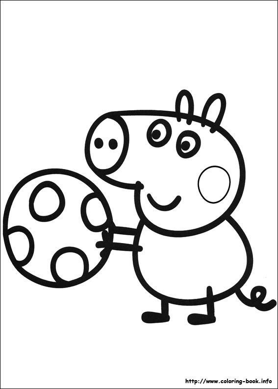 567x794 Peppa Pig Coloring Picture Fiestas Boys Chart, Pig