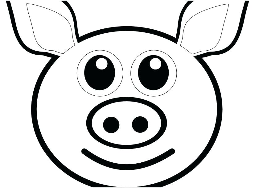 827x609 Coloring Page Of A Pig Poop Emoji Coloring Sheet As Well As Pig