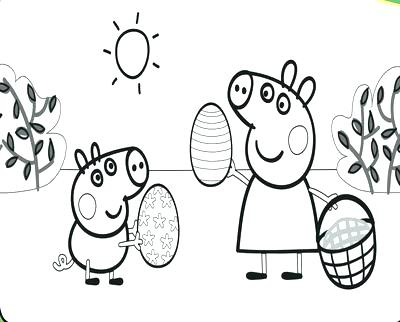 400x322 Family Of Pig Coloring Pages Printable Of Pig Peppa Pig Coloring