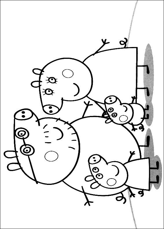 567x794 Kids N Coloring Pages Of Peppa Pig