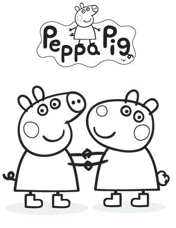 344x446 Pig Coloring Sheets Pig Coloring Pages Cute Pig Coloring Sheets