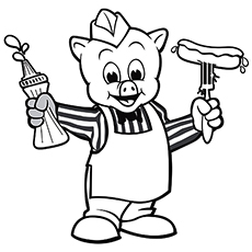 230x230 Top Free Printable Three Little Pigs Coloring Pages Online