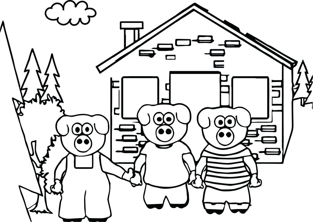 1024x726 Coloring Pages Three Little Pigs Coloring Pages Keys To Literacy