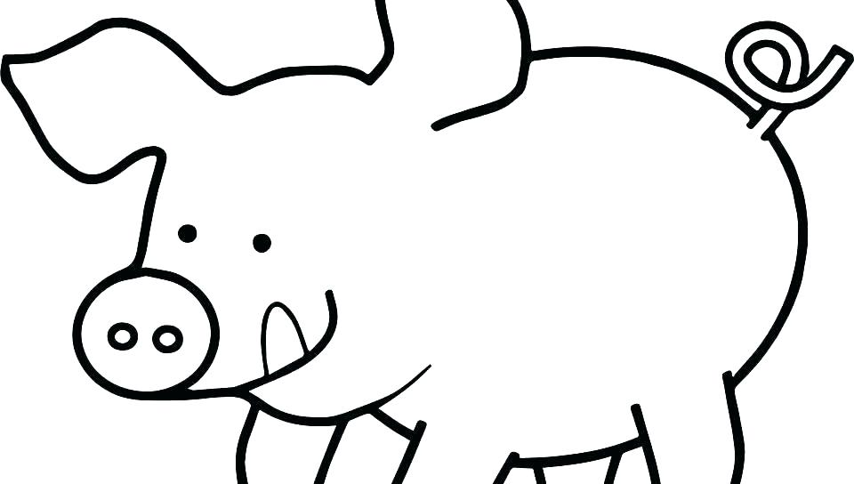 960x544 Pig Coloring Pages Pig Colouring Pages Online Coloring Pages Free