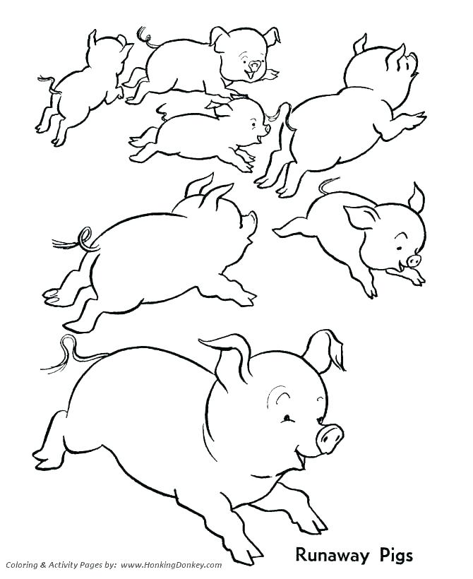 670x820 Printable Free Coloring Pages Free Pig Coloring Pages Luxury Farm