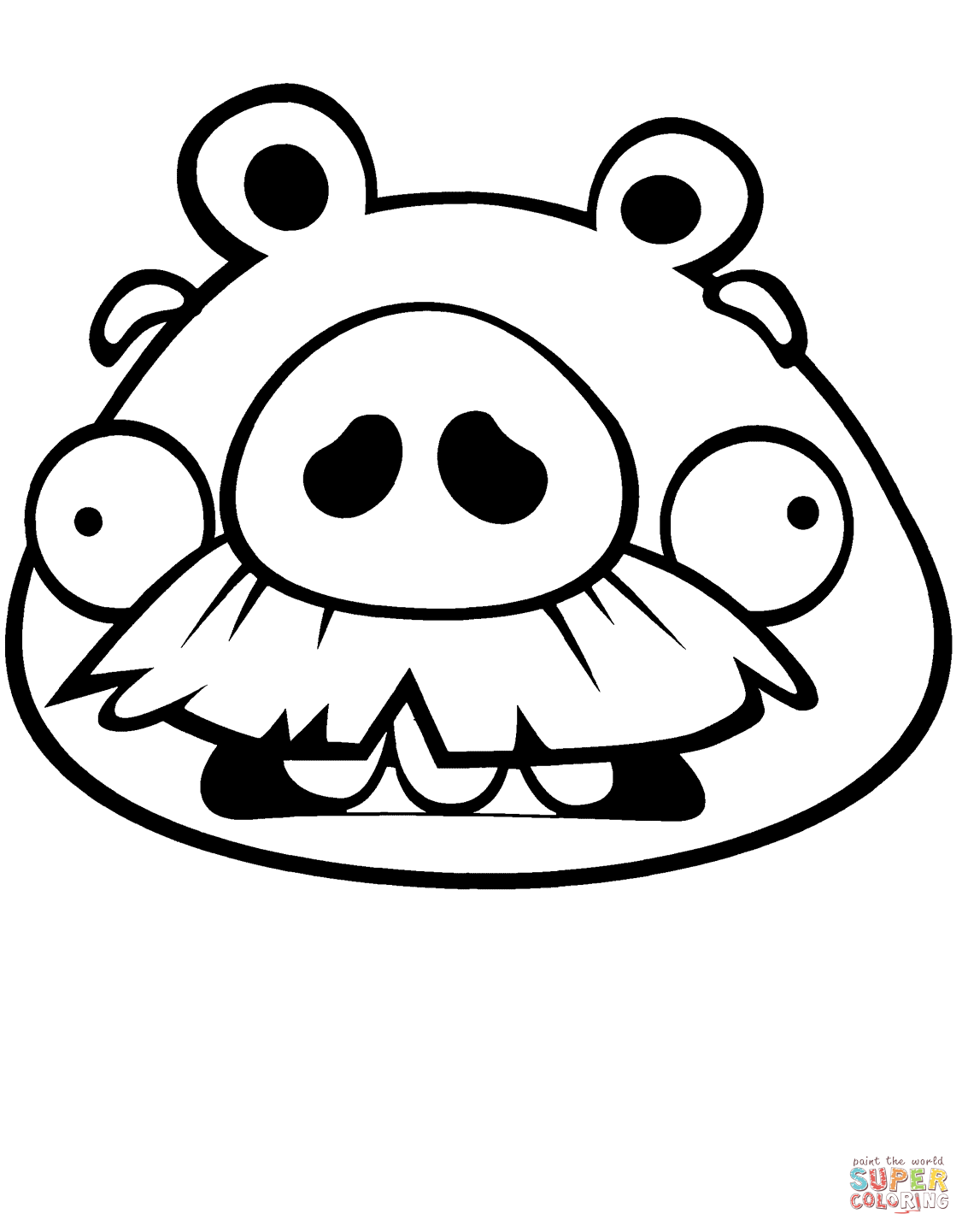 1133x1441 Pig Face Coloring Page Pages Crafts For Mask