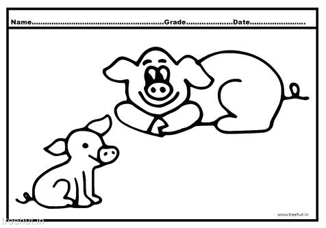 476x333 Pig Face Colouring Pages Printable Coloring Cute Pig Coloring Page