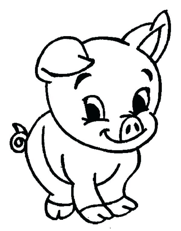 600x768 Coloring Pages Fascinating Pig Outlines Cu On Skeleton Pig Face