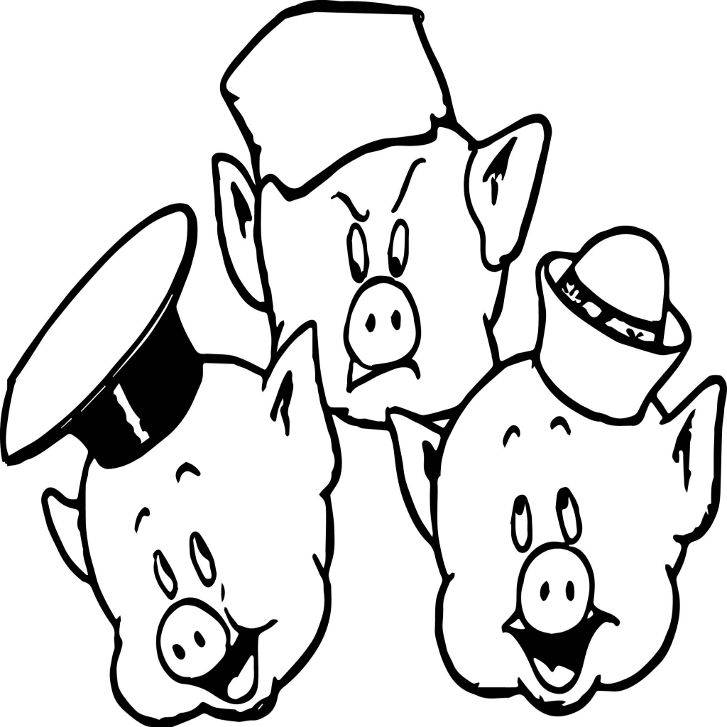 1024x1024 Cute Pig Coloring Pages Resume Intended For The Most Beautiful Pig