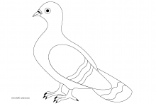 220x150 Exclusive Ideas Pigeon Coloring Pages And Duckling Presents Book