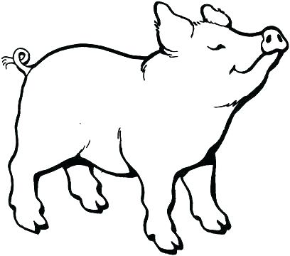 408x360 Piggy Bank Coloring Page Piggy Bank Coloring Page Coloring Page