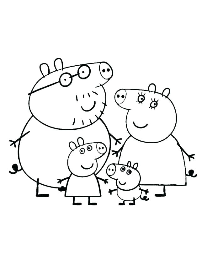 660x847 Piggy Coloring Pages Pig Coloring Pages Piggy Bank Printable