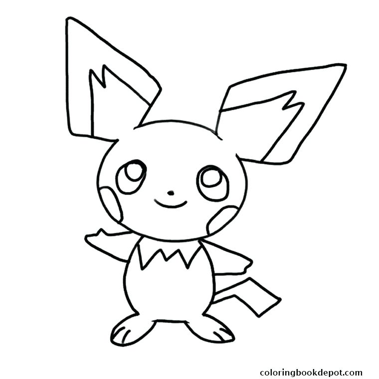 760x760 Pichu Coloring Pages Full Size Of Coloring Pages With And Coloring