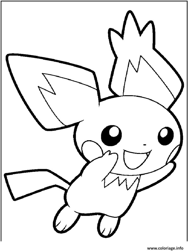 769x1024 Pichu Coloring Pages Great Contemporary Entry Level Resume Nice