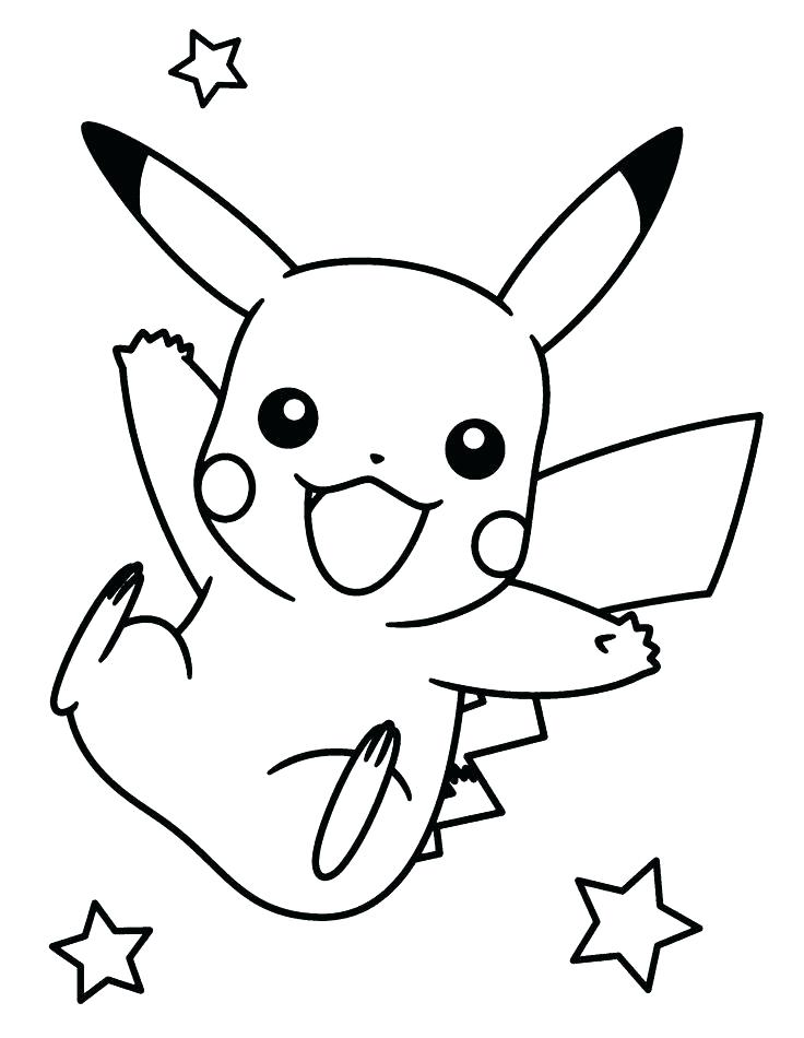 736x950 Pichu Coloring Pages