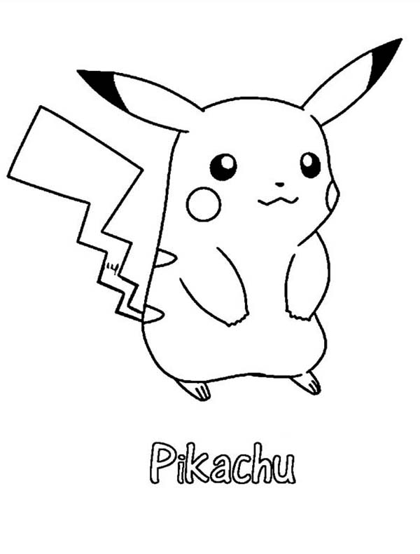 Pikachu Coloring Pages at GetDrawings | Free download
