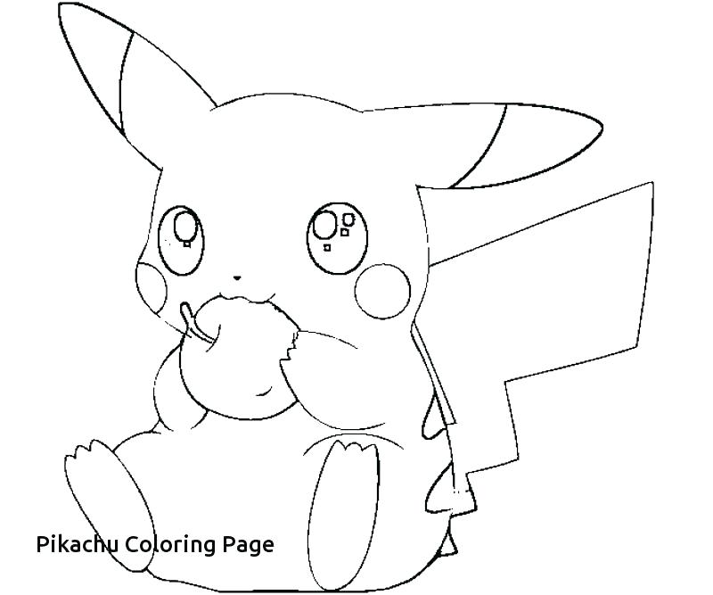 800x667 Pikachu Coloring Page Coloring Page Free Coloring Pages
