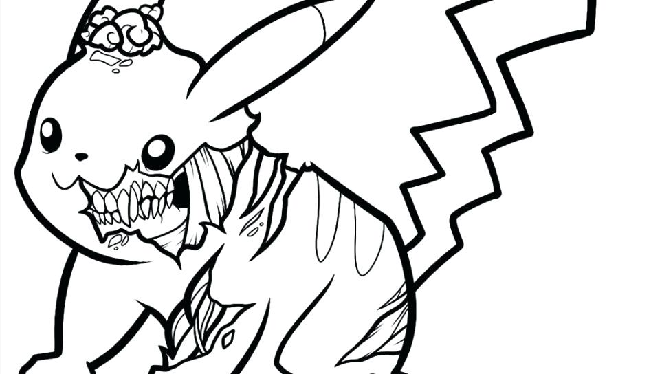 960x544 Pikachu Coloring Page Free Printable Coloring Pages For General