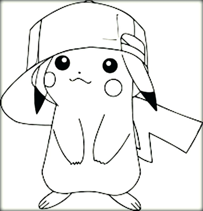 768x799 Pikachu Coloring Pages Coloring Color Pages Coloring Pages Cute