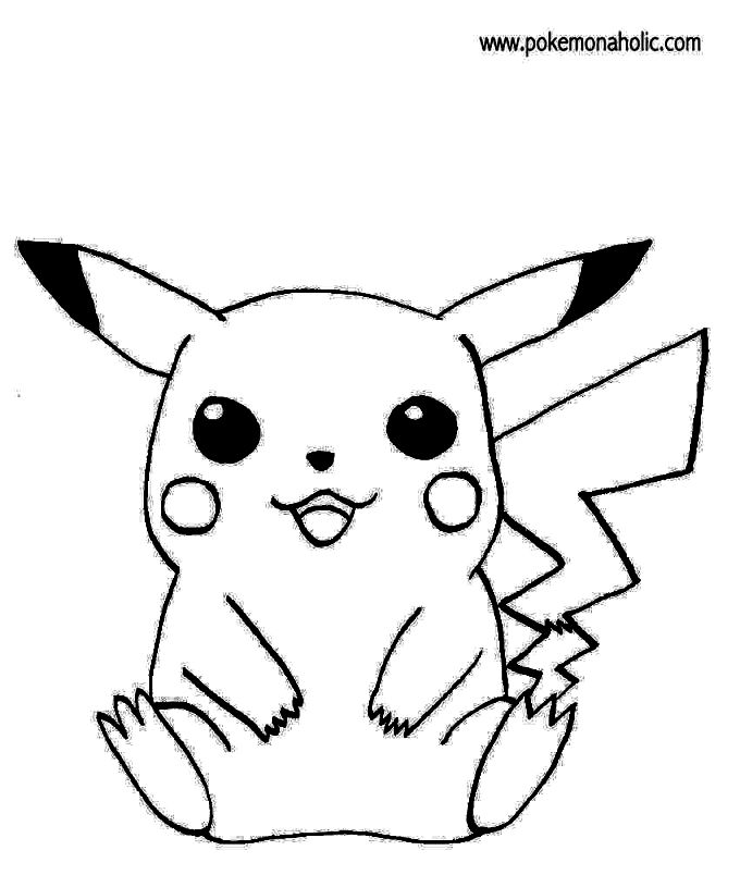 680x804 Pikachu Coloring Pages Coloring Pages Kids