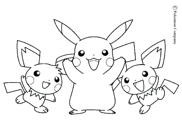 620x475 Coloring Pages Pikachu Coloring Pages Coloring Page Little Free