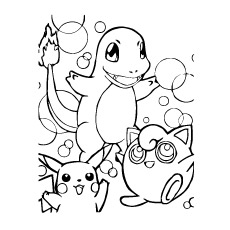 Pikachu Coloring Pages at GetDrawings.com | Free for personal use ...