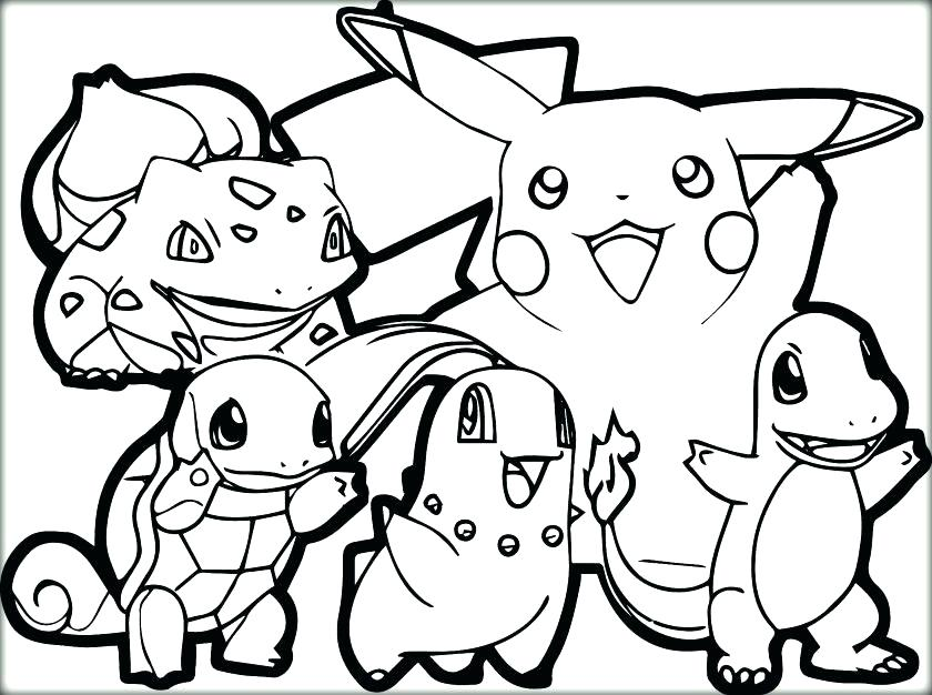 840x626 Picachu Coloring Pages Coloring Pages For Free Coloring Pages